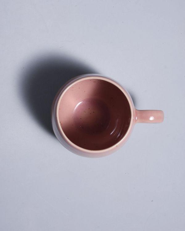 Bica 6er Set Tasse groß pink navy cream 2