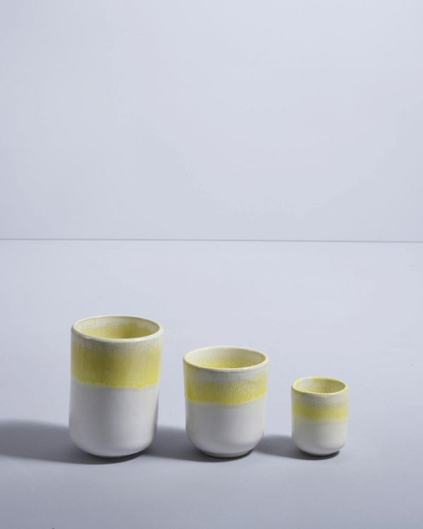 COPA ALTO - Mug small yellow 2