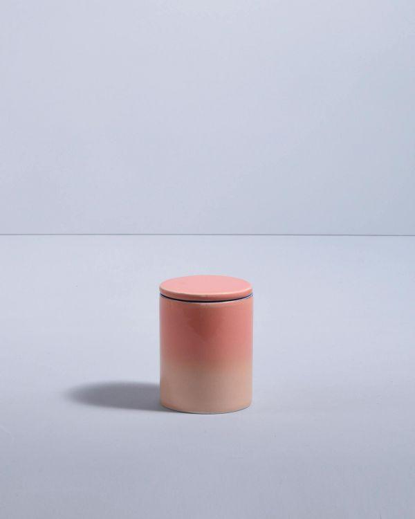 VELA - Candle coral gradient 2