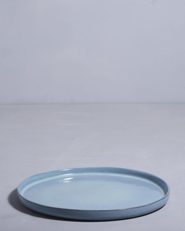 LUA - Plate large blue 2