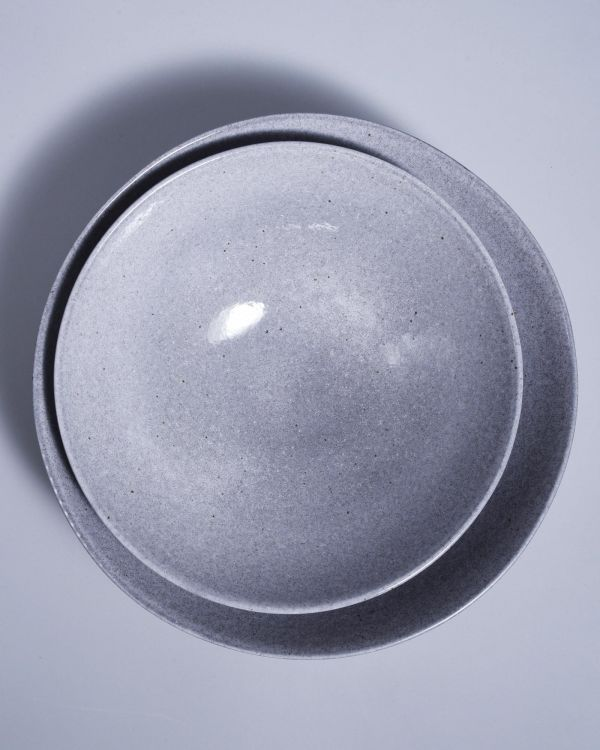 MAE - Servingbowl big flat grey 2