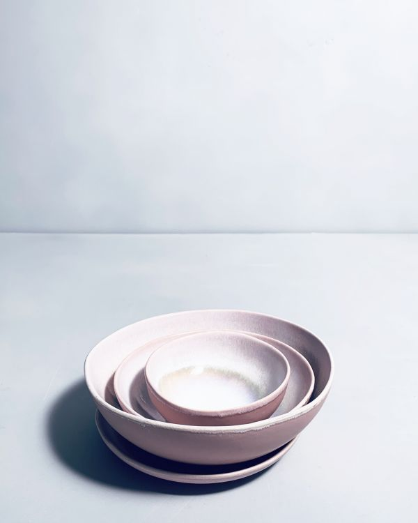 Sesimbra Saucenschälchen 11 cm Morno rose 2