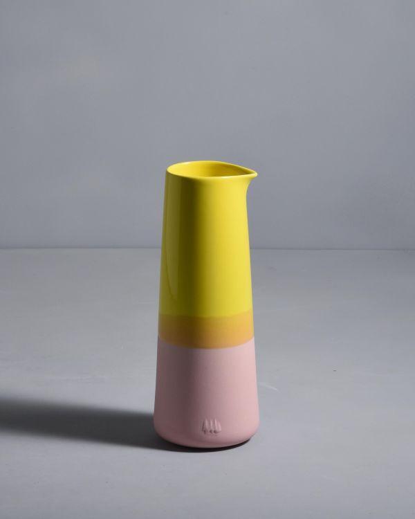 PINGUIM - Decanter yellow rose 2