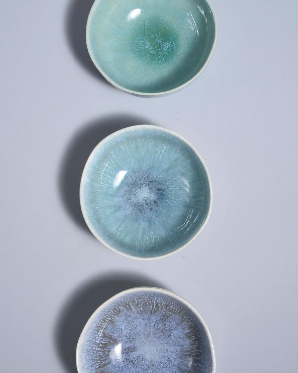 Sesimbra Saucenschälchen 11 cm grünblau 2