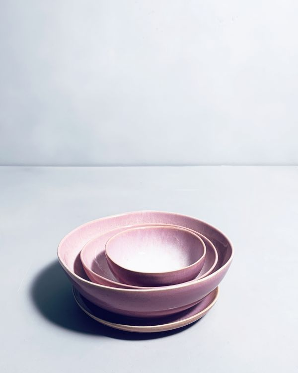 Sesimbra Müslischale M rosa 2