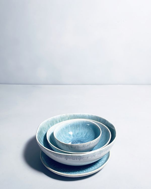 Sesimbra Müslischale S grünblau 2