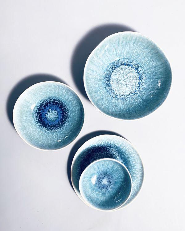 SESIMBRA - Miniplate turquoise blue 2