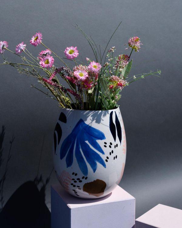 Vaso arts flowers 2