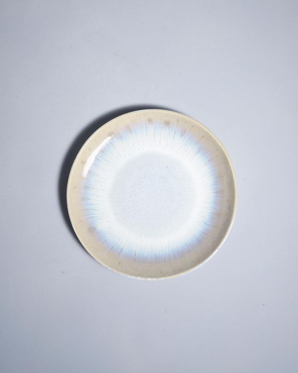 ALACHOFRA - Plate small ivory 2