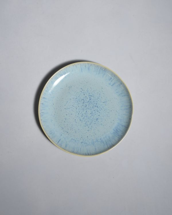 AREIA - Plate small aqua 2