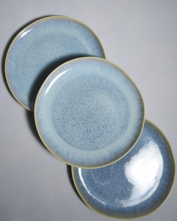 AREIA -Plate large aqua 2
