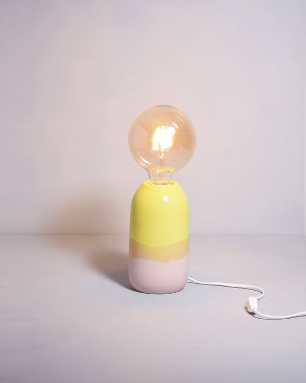 FAROL - Lamp rose yellow 2