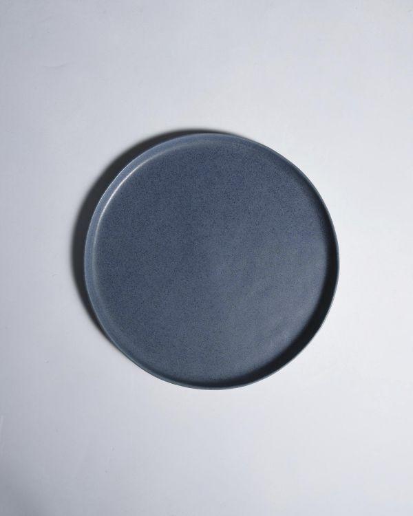 MACIO - Plate large blue 2