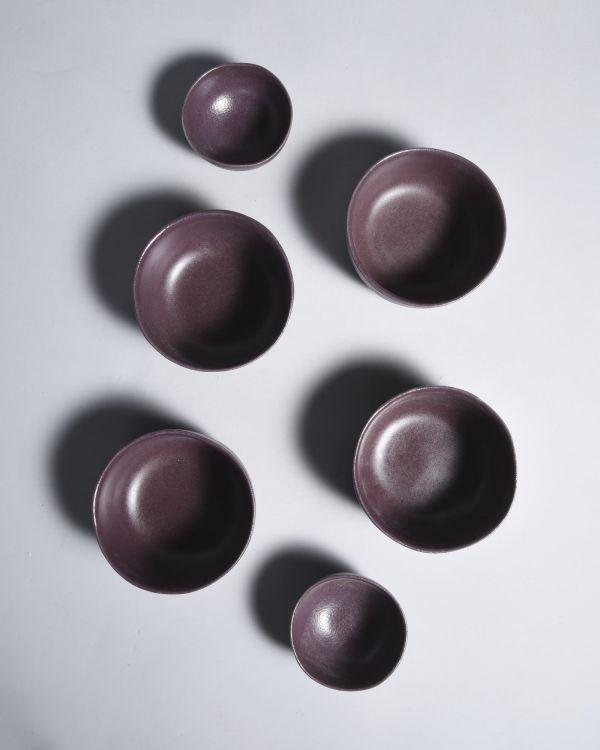 Macio Saucenschälchen 11 cm bordeaux 2