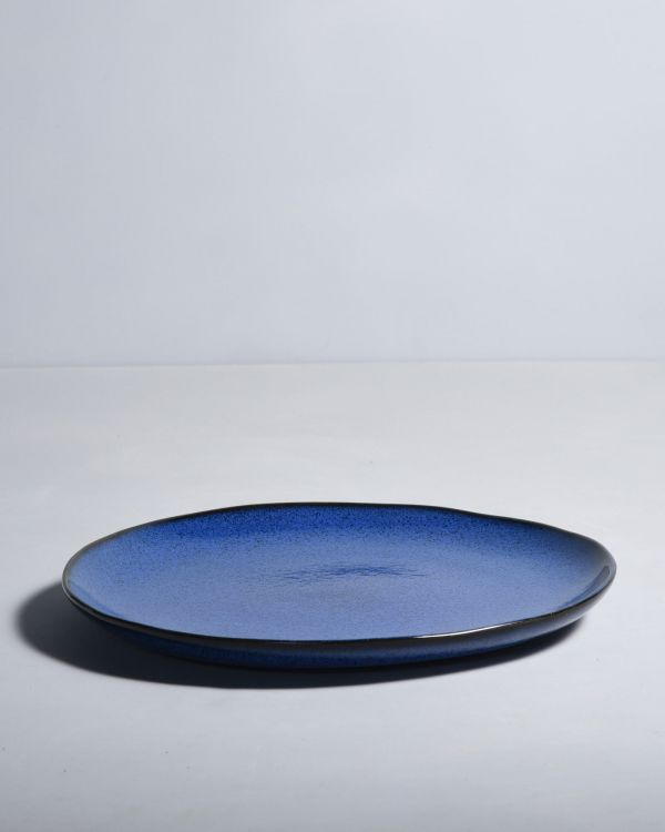 MAE - Plate large blue 2
