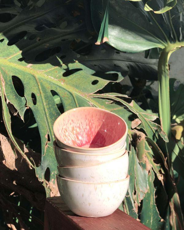 AREIA - Saucebowl pink 2