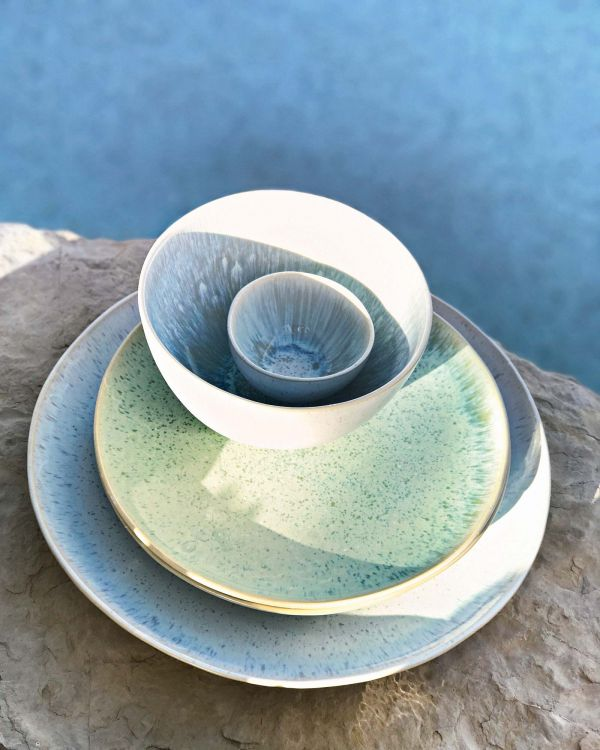 AREIA - Plate small mint 2