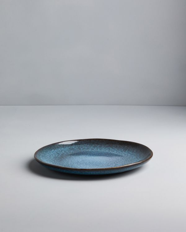 AREIA - Plate small teal 2