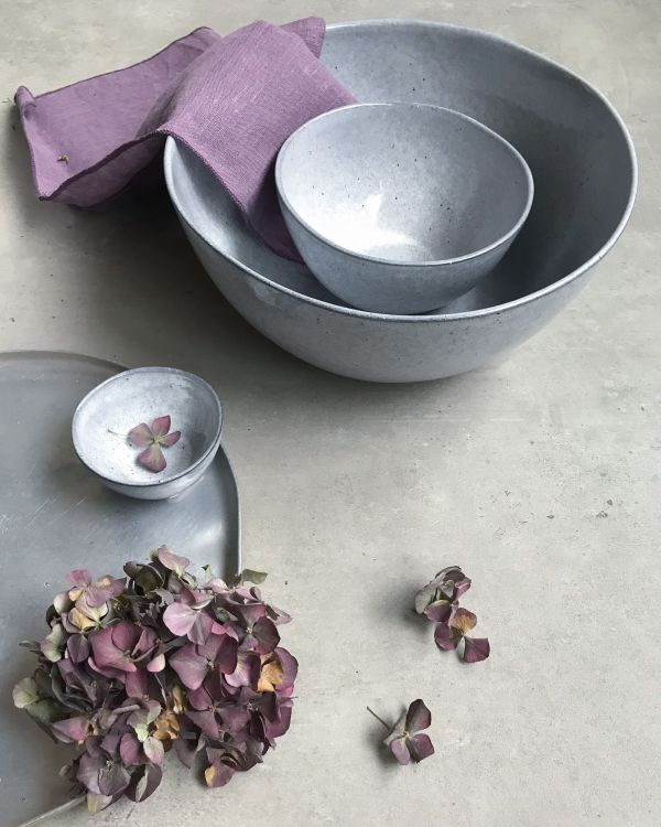 MAE - Servingbowl grey 2