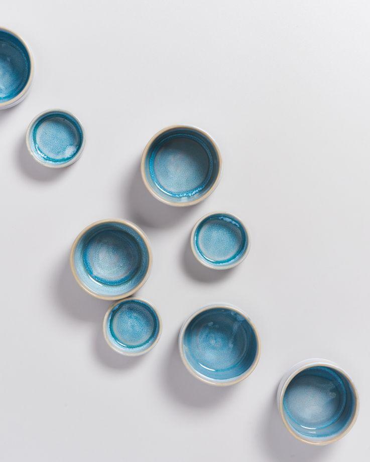 Cordoama Saucenschälchen 9 cm aqua 2