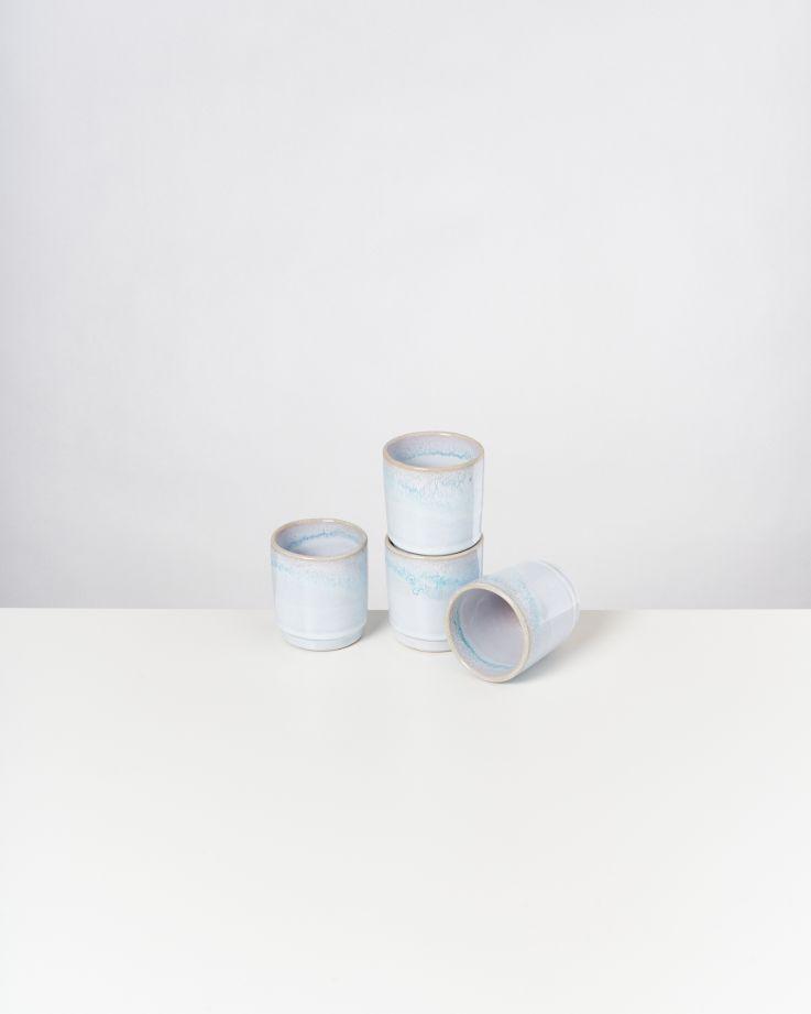 Cordoama 4er Set Becher azur 2