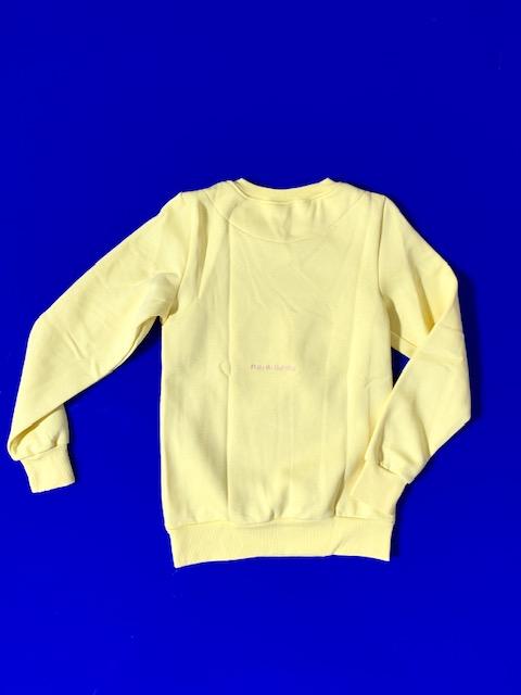 Girls Sweatshirt Lemon 2