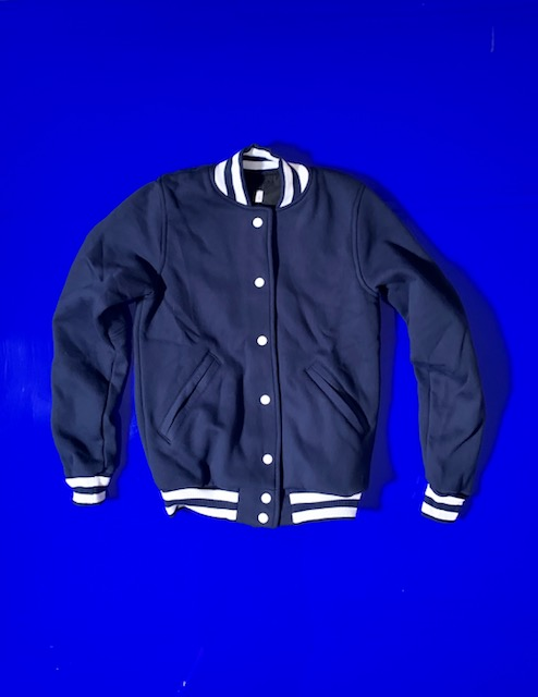 Girls College Jacke navy 2