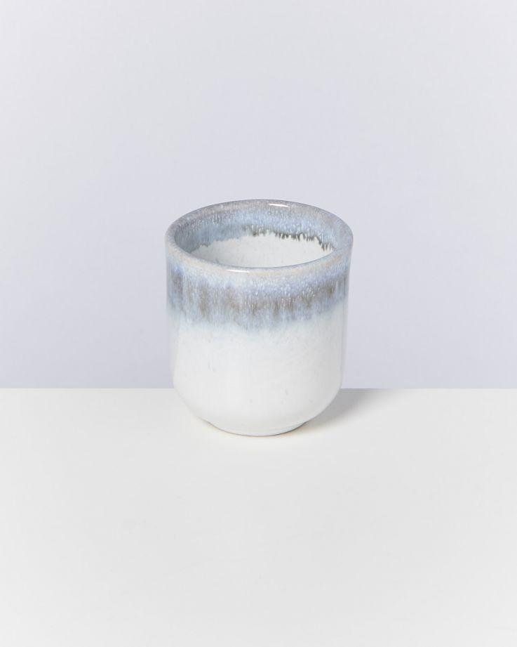 Alcachofra 4er Set Becher klein graublau 2