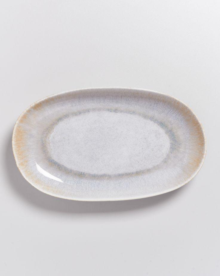 Alcachofra Servierplatte L graublau 2