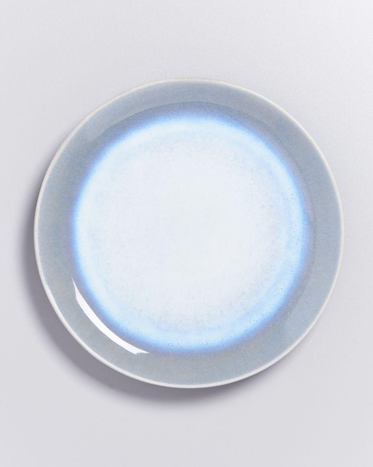 Alcachofra Teller groß hellblau 2