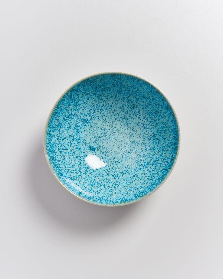 Areia Servierschale klein flach aqua 2