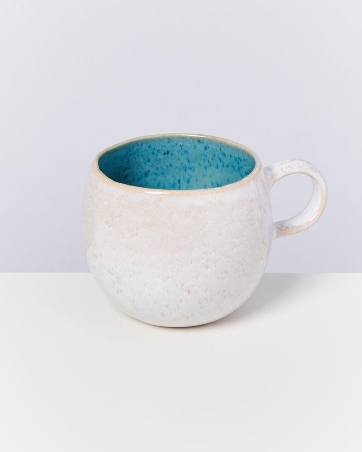 Areia 6er Set Tasse groß aqua 2