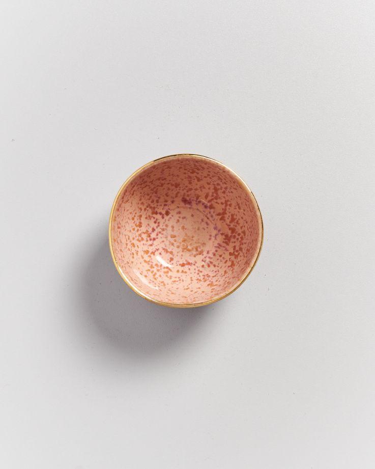 Areia Saucenschälchen pink mit Gold 2