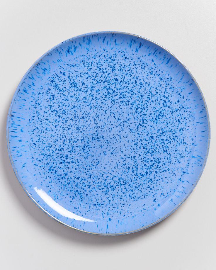 Areia Teller groß royalblau 2
