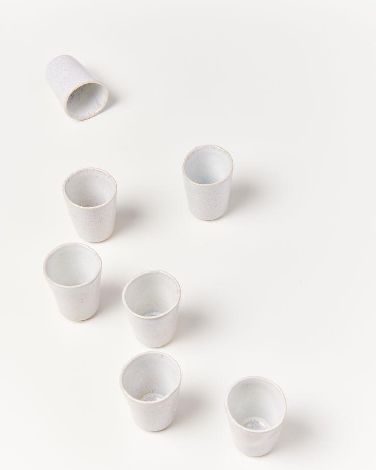 Areia Espressobecher weiß 2