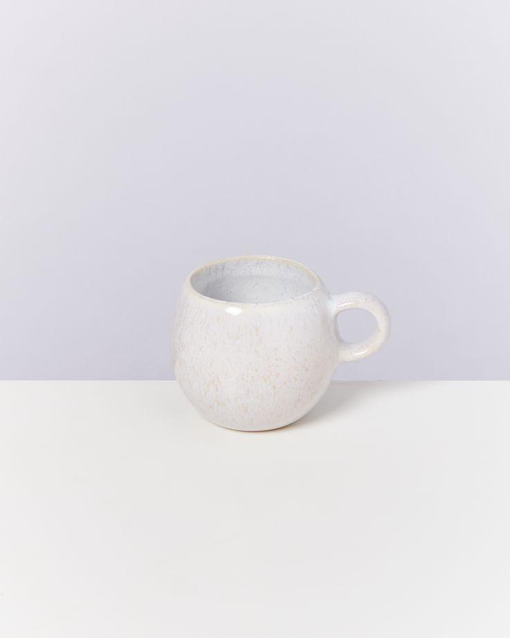 Areia 6er Set Espressotasse weiß 2