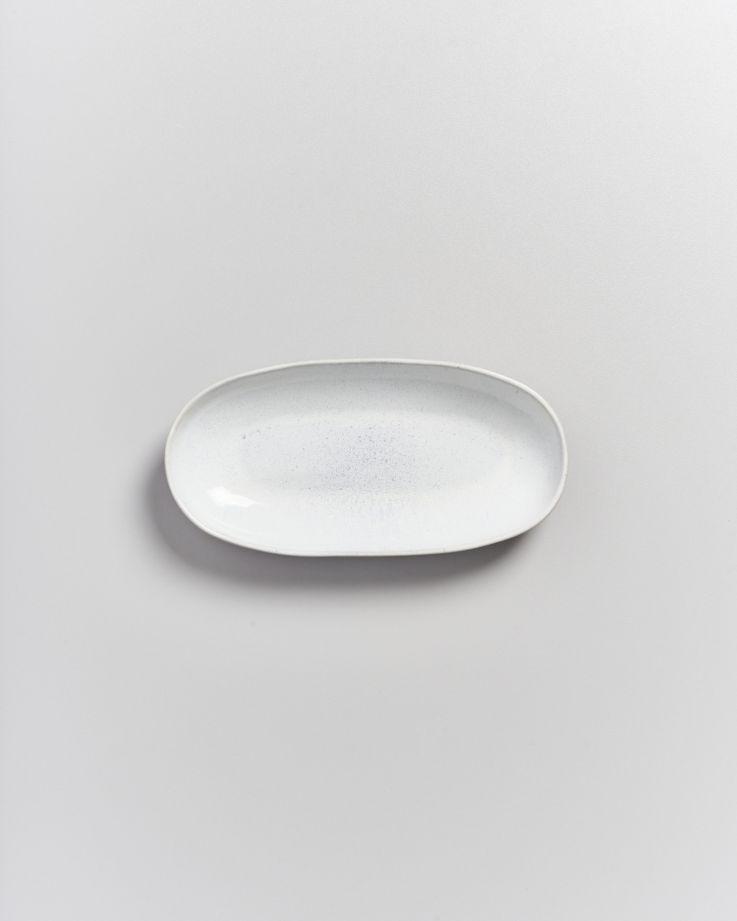 Areia Servierplatte M weiß 2