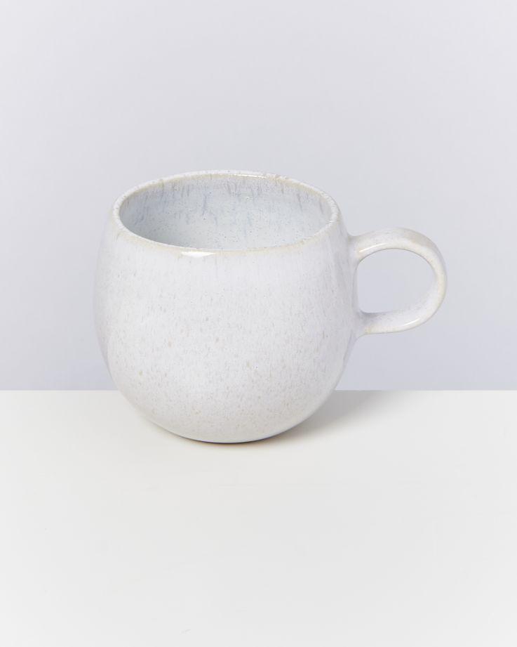 Areia 6er Set Tasse groß weiß 2