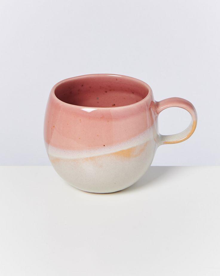 Bica 4er Set Tasse groß pink cream 2