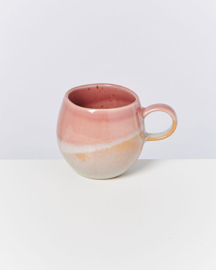 Bica 6er Set Tasse klein pink cream 2