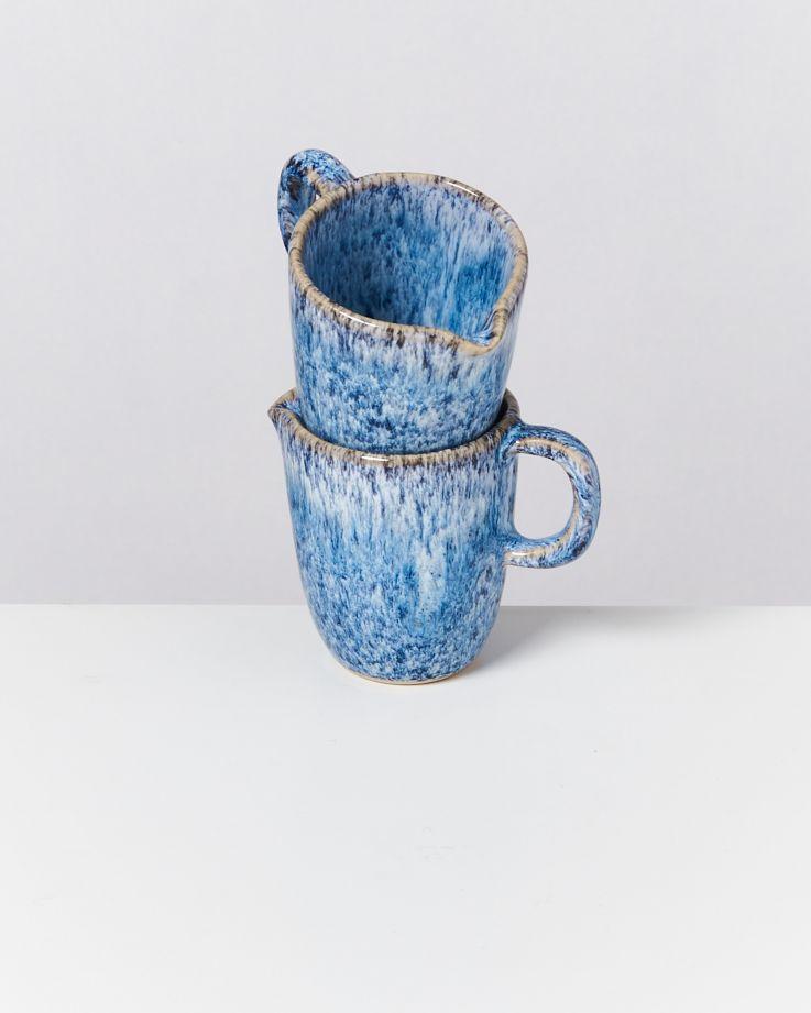 CORDOAMA - Milk Jug blue speckled 2