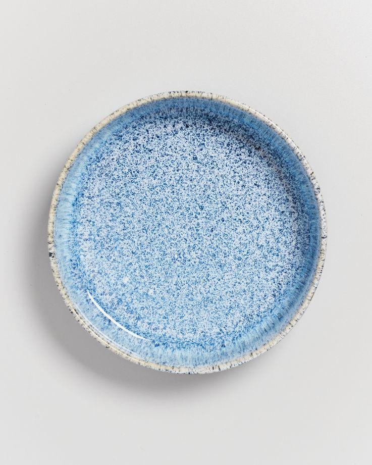 Cordoama Pastateller blau gesprenkelt 2