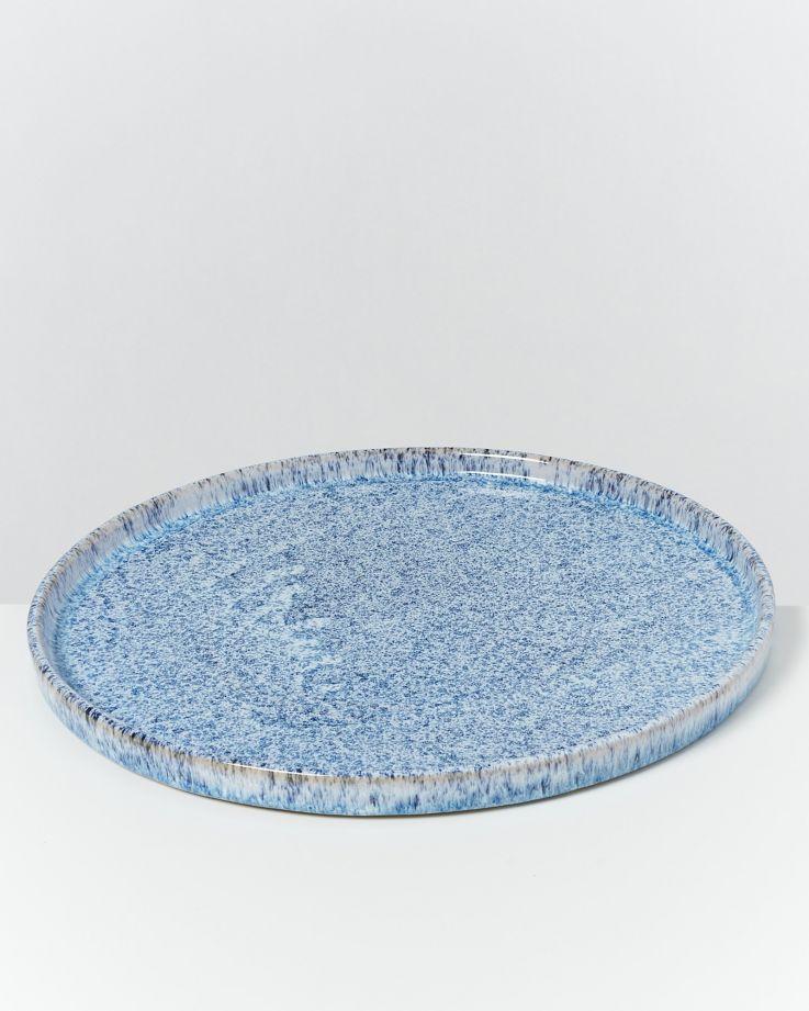 Cordoama blau gesprenkelt - 8 teiliges Set 2