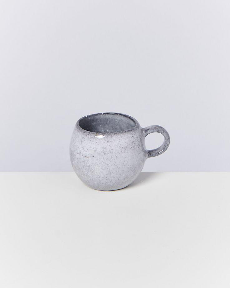 Mae 4er Set Espressotasse grau 2
