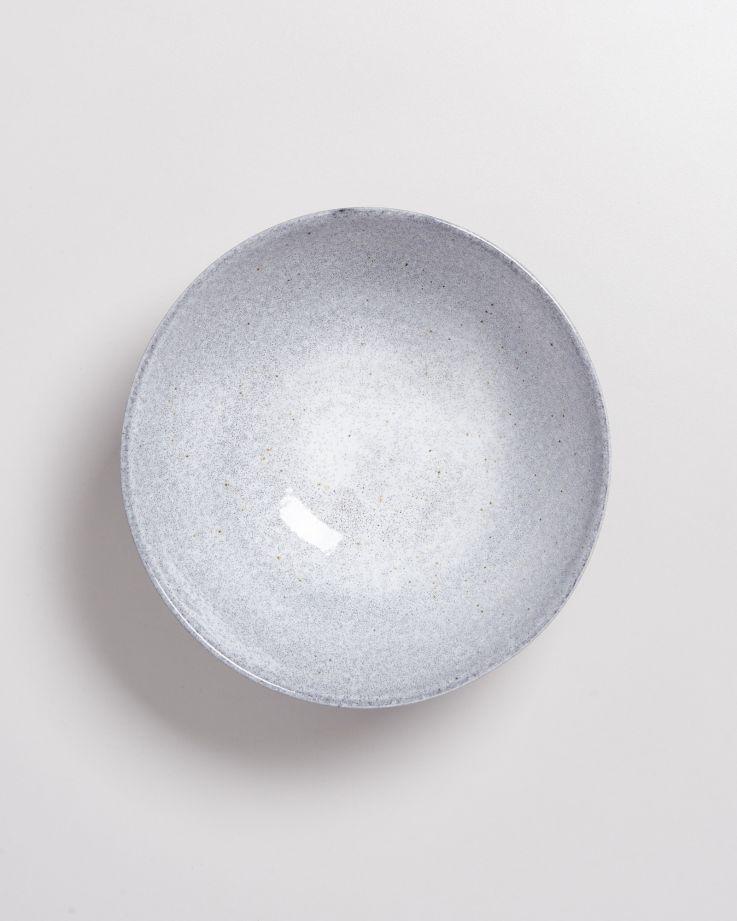 Mae Servierschale klein flach grau 2