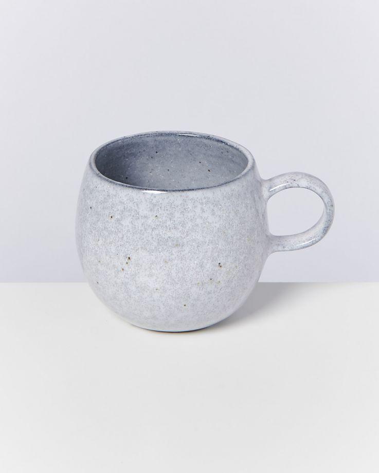 Mae 4er Set Tasse groß grau 2