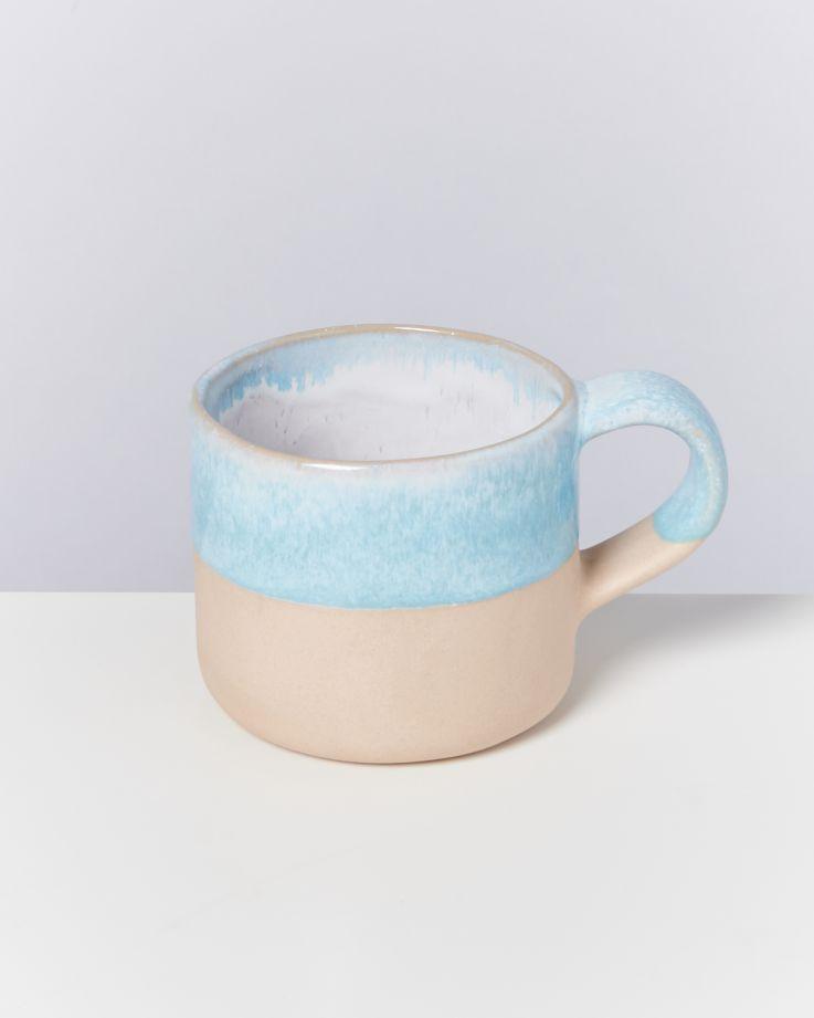 Nódoa 4er Set Tasse Blue dipped 2