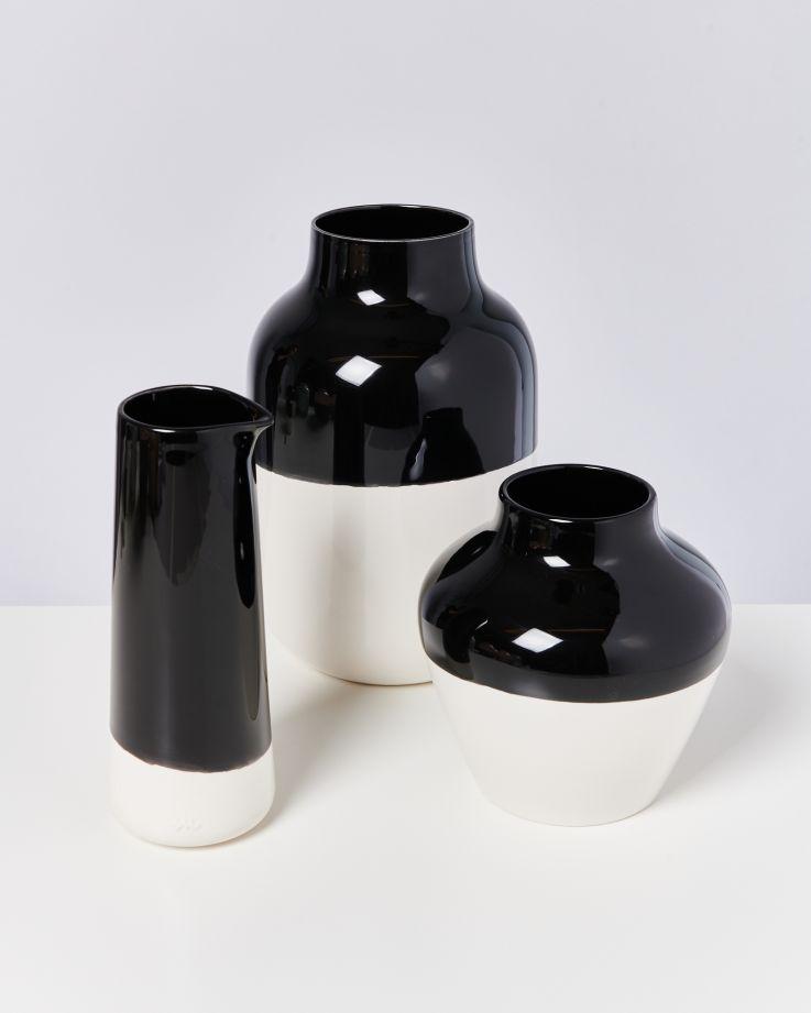 Pinguim Karaffe schwarz weiß 2