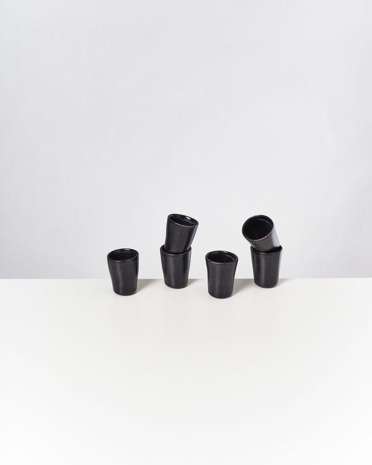 Turmalina Espressobecher schwarz 2