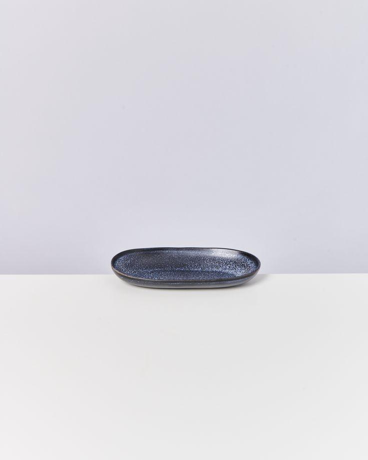 Turmalina Servierplatte M schwarz 2